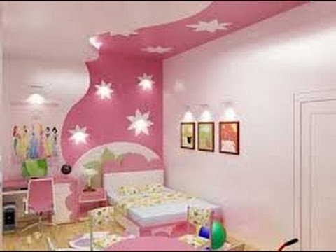 Decoracion de cuartos infantiles para ni as 6 youtube for Decoracion de techos de recamaras