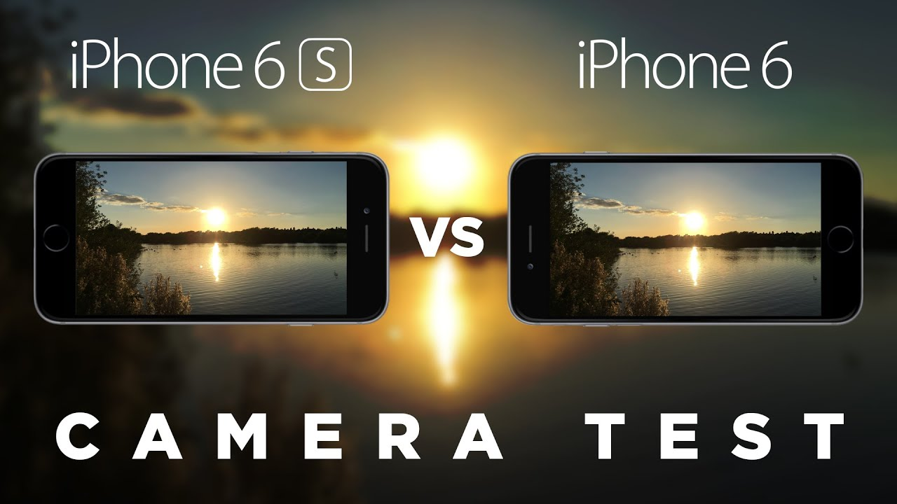 iPhone 6s vs iPhone 6 Camera Test Comparison - YouTube