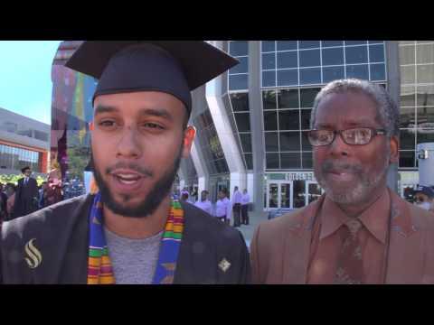 Anthony Sadler - Graduate and Hometown Hero