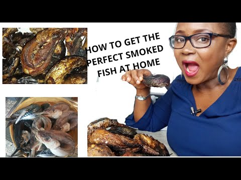 HOW TO GET SMOKED FISH AT HOME| BEST SMOKED FISH