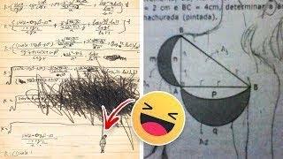 أطرف 20 اجابة لطلاب المدارس في الإمتحانات.. أدهشت المعلمين !!