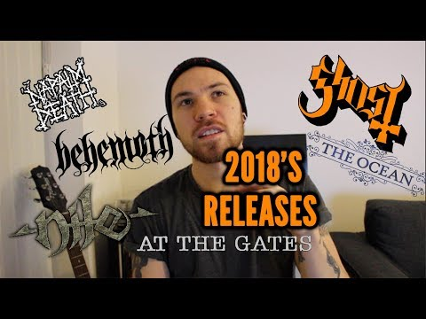 2018 : My 10 Most Anticipated Albums | The Metal Tris