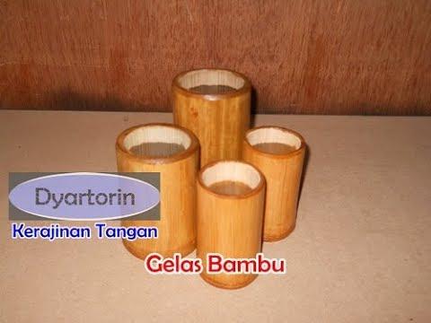 Unduh 420 Gambar Gelas Dari Bambu