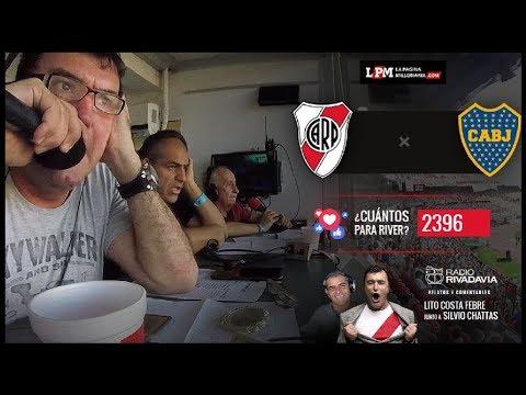 River vs. Boca EN VIVO - Superliga 2017 - Con los relatos de Lito Costa Febre