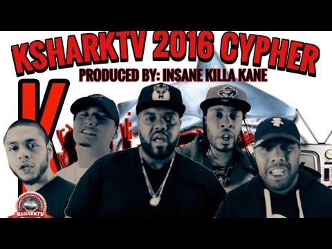 KsharkTV Cypher- Charlie Clips, JR Writer, Tony Baez, William Young & Money Bagz