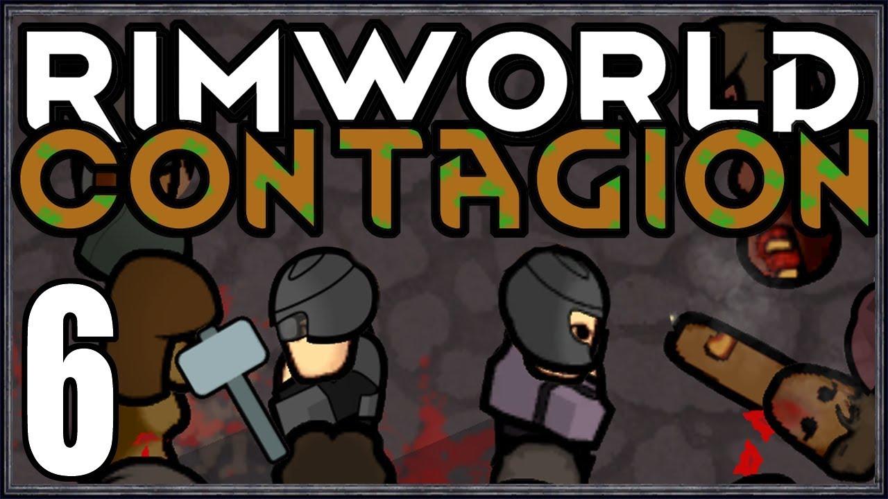 Rimworld: Contagion #6 (City Zombie Survival)