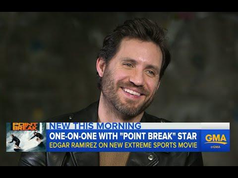 One on One With 'Point Break' Star Edgar Ramirez