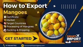 MANGO EXPORT  [IMPORT EXPORT]