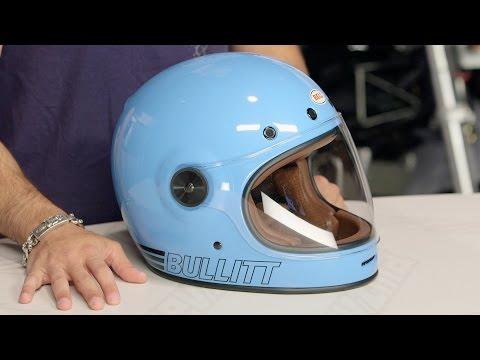 Bell Bullitt Retro Blue Helmet Review at...