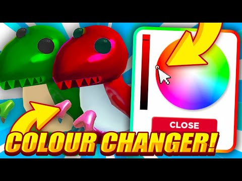 How To Change The Colour Of Your Pets In Adopt Me Roblox Overlook Bay Idea In Adopt Me Youtube