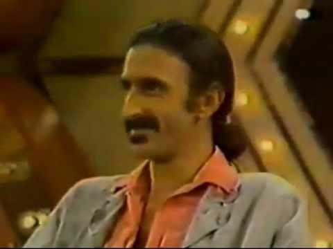 Frank Zappa - Make Me Laugh, TV Appearance
