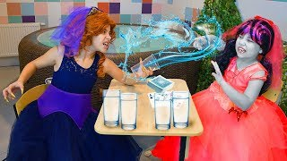 Vampire Wedding vs. Werewolf Wedding! Water War Challenge!