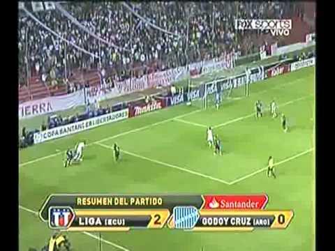 Liga de Quito 2-0 Godoy Cruz Copa Libertadores 2011