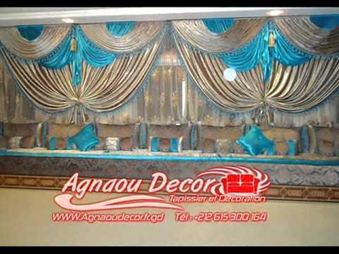 salon marocain salons marocains agnaou décor Rabat