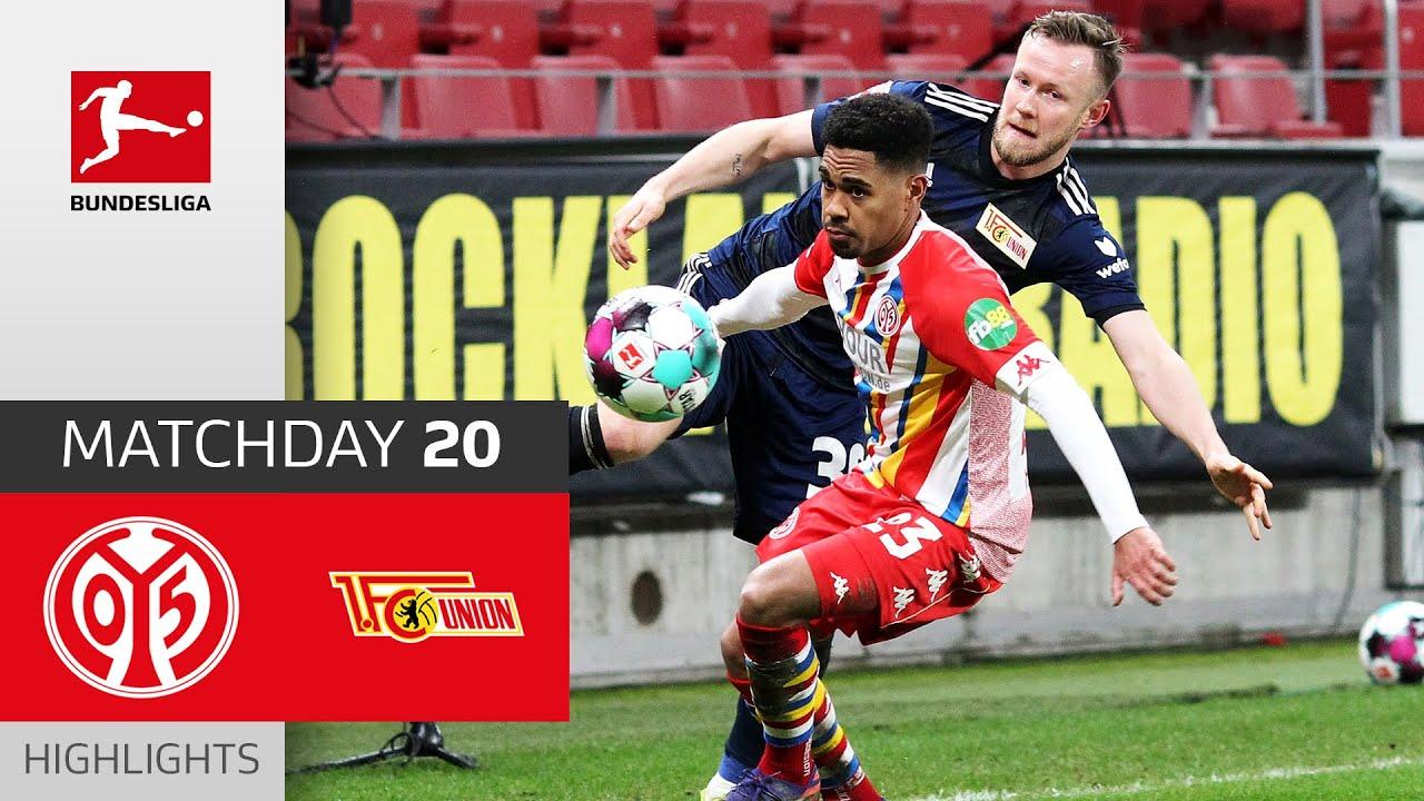 Download 1. FSV Mainz 05 - Union Berlin | 1-0 | Highlights | Matchday 20 – Bundesliga 2020/21