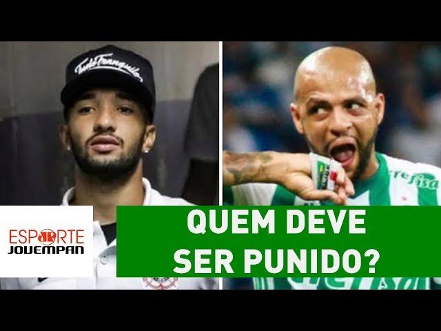 Clayson, Felipe Melo ou ambos? QUEM deve ser PUNIDO?
