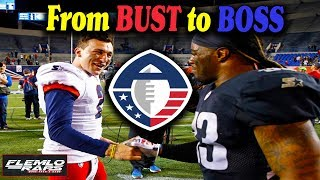 Ex CFB Stars Johnny Manziel & Trent Richardson Battle in the AAF!