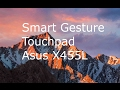 Smart Gesture Touchpad - Hackintosh - OSX El Capitan - 2017
