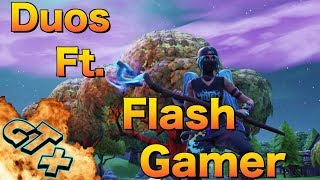 Duos Ft. xX Flash GamerXx ( PRIVATE MATCH ) Fortnite Live stream