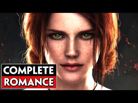 Complete Triss Merigold Romance: Base Game + Expansions I The Witcher 3