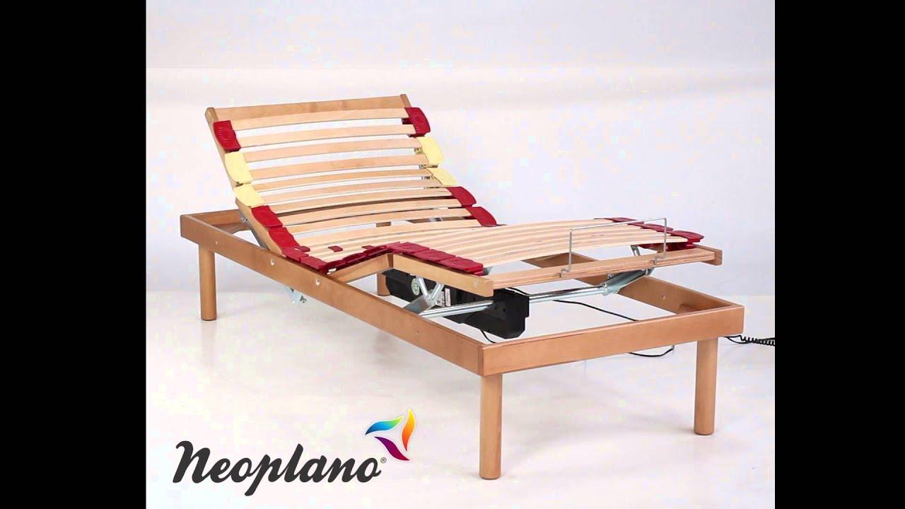 Rete a Doghe Elettrica Motorizzata in Legno Comfort by Neoplano