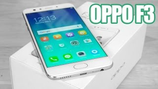 OPPO F3 (Dual Selfie Camera | Mediatek 6750T) - Unboxing & Hands On!