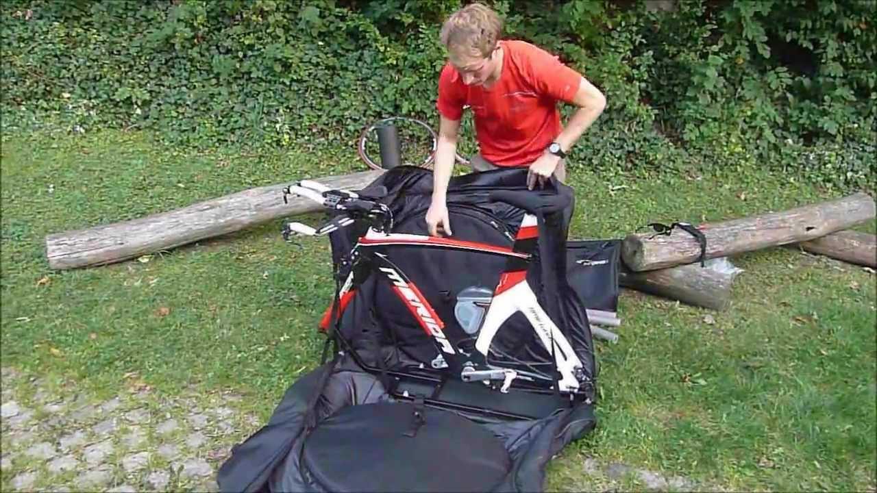 Biro Packs The Scicon Aerocomfort 2 0 Tsa Bike Bag Youtube