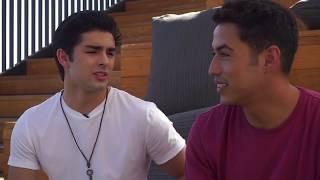 Diego Tinoco and Julio Macias Talk ON MY BLOCK- Spanish (pt1)