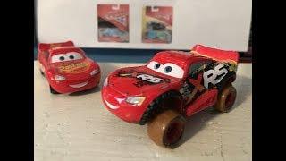 Disney Cars XRS Mud Racing Lightning McQueen Review