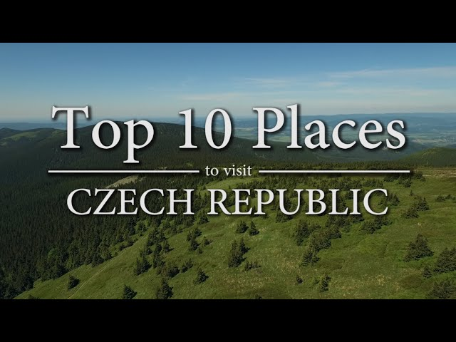 Top 10 Places To Visit In Czech Republic Youtube