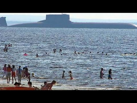 MEGA SUB! World's BIGGEST SUBMARINE ever constructed! (Soviet Typhoon/Akula Class Submarine.)