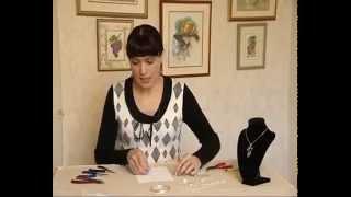 Украшение на шею в виде кулона. Как сделать украшение на шею