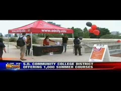 KUSI News - San Diego Community College District Offering Summer Classes