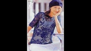 Летняя Женская Кофточка Крючком - видео-модели 2019 / Summer Women's Blouse Crochet video