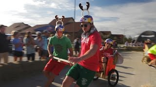 Red Bull Chariot Racing - Fast and Furious!
