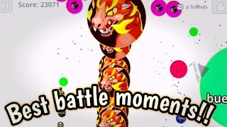 Agario mobile - EPIC/FUNNY/ WINS & FAIL//BEST MOMENTS! IN AGARIO!!