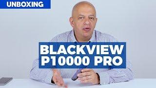 Teléfono con batería de 11,000 mAh Blackview P10000 Pro