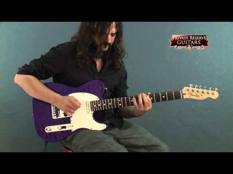Fender Custom Shop Custom Deluxe Telecaster Electric Guitar with Rosewood Fingerboard