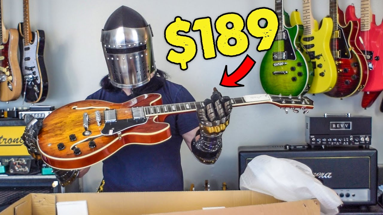 Firefly Guitars Are Back And Better Than Ever Unboxing And Review Youtube