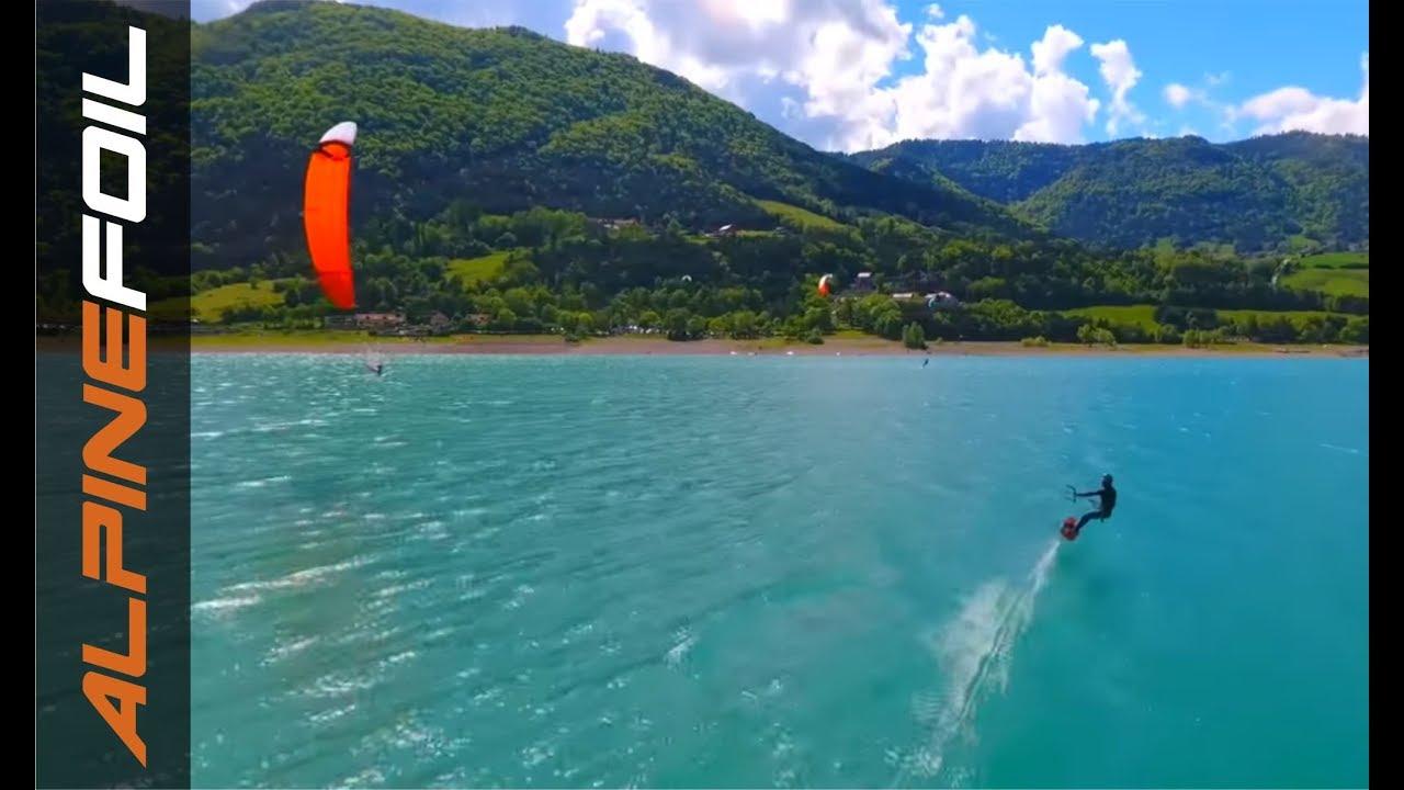 Alpinefoil kitefoil Webserie #1