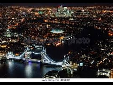 Night View Of London From The Shard