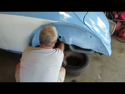 VW Beetle body to chassis part 2