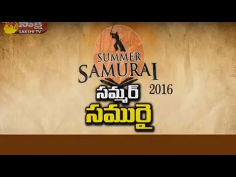 Poor Children's Summer Samurai Training Camp in Telangana || Special Edition 10th May 2016