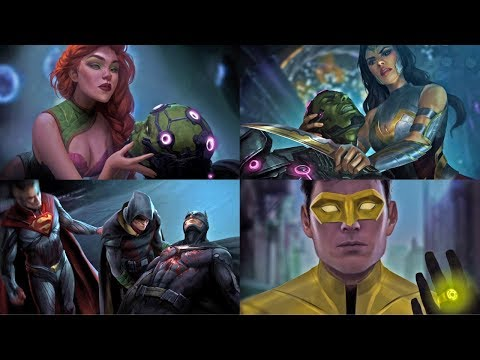 Injustice 2 - All Character Endings (Multilanguage Subtitles)