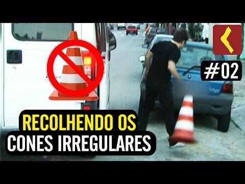 RECOLHENDO CONES IRREGULARES #02