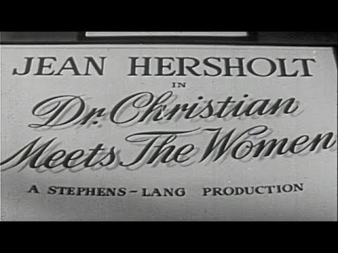Dr. Christian Meets the Women 1940  Orlando Eastwood Films