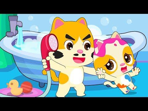 i-don't-want-a-bath-|-bath-song-|-colors-song-|-nursery-rhymes-|-kids-songs-|-babybus