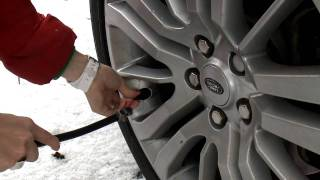 Range Rover Sport - Chemmy Alcott's tutorial - How to drive in the snow?