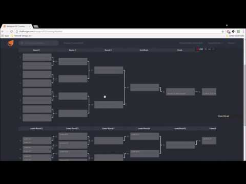 Bracket Types (Single/Double Elimination and Pool Play)