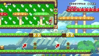 とうとう投稿!? 俺が手掛けた270秒スピードラン! Super Mario Maker  #94 thumbnail